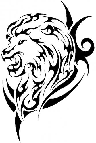 Tigre Tribal Dessin